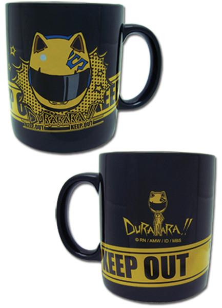 Keep Out Celty Durarara Mug