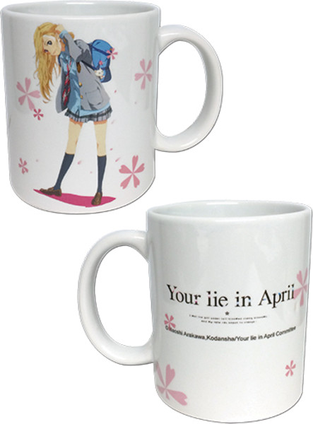 Kaori Miyazono Your Lie in April Mug