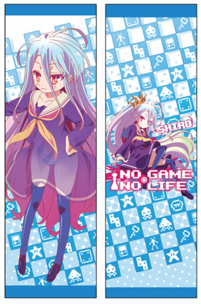 Shiro No Game No Life Body Pillow