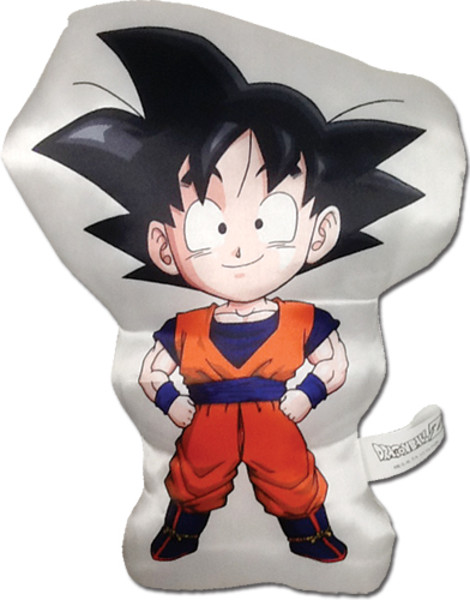 goku chibi dragon ball z plush pillow