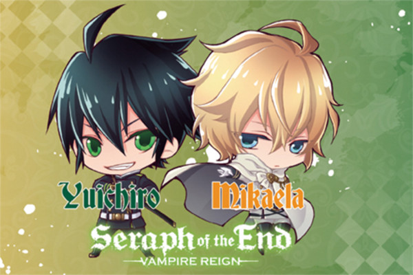 Yuichiro and Mikaela Seraph of the End Pillow Case