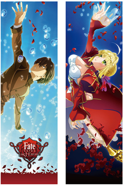 Saber and Hakuno Fate/Extra Last Encore Body Pillow Case