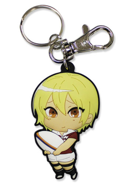 Sumiaki Iwashimizu All Out!! PVC Keychain