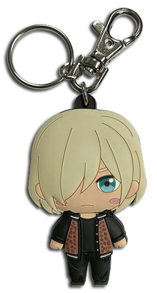 Casual Yuri Plisetsky Yuri!!! On ICE PVC Keychain