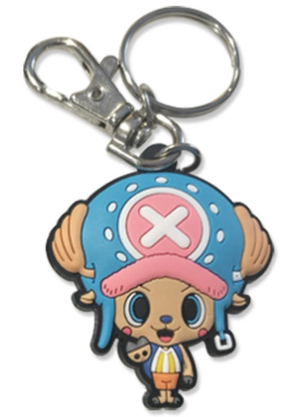 Chopper One Piece PVC Keychain