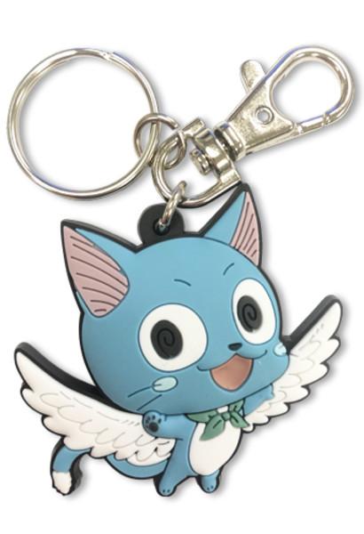 Soaring Happy Fairy Tail PVC Keychain
