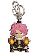 Natsu Dragneel Fireball Attack Fairy Tail PVC Keychain