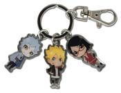 Team 7 Boruto Metal Keychain
