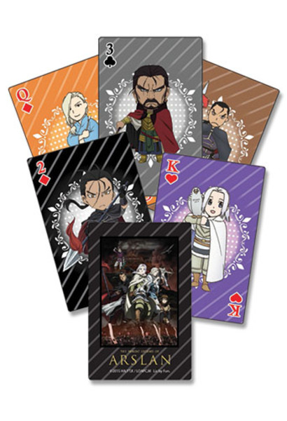 The Heroic Legend of Arslan Playing Cards