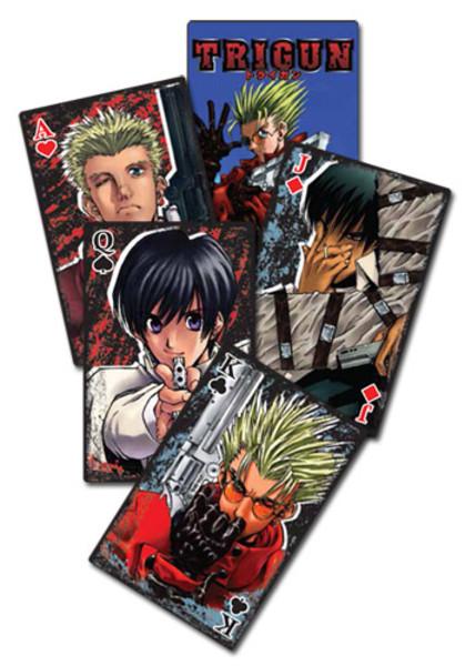 Trigun Playing Cards