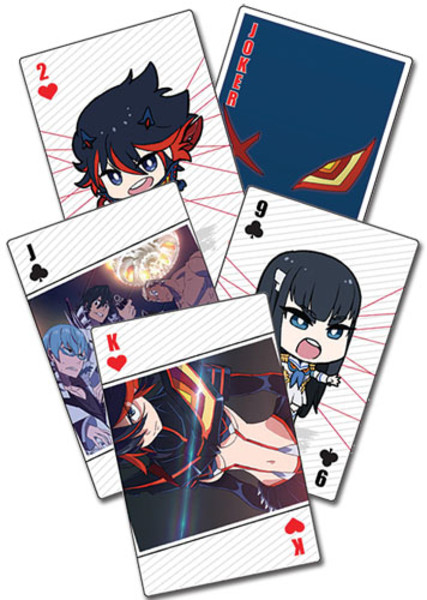 Kill la Kill Playing Cards