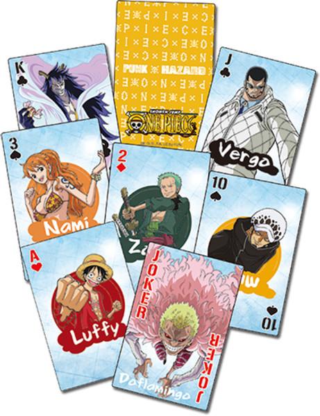 Punk Hazard One Piece Playing Cards