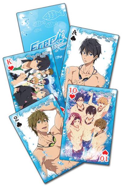 Water Splash Free! Playing Cards