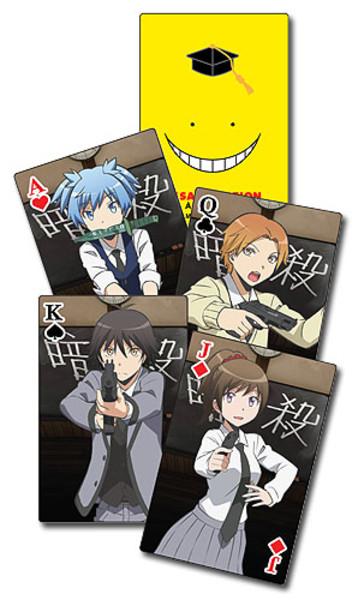 Class Photos Assassination Classroom Playing Cards