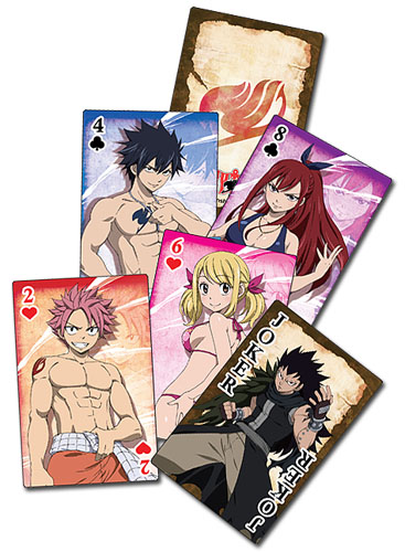 Fairy Tail Group Playing Cards 699858515806