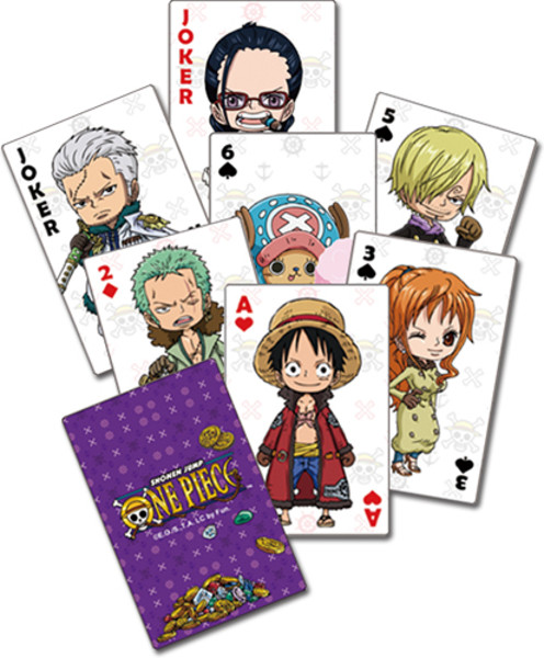 Group One Piece Playing Cards