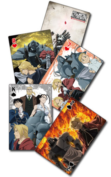Automail Back Fullmetal Alchemist Brotherhood Playing Cards