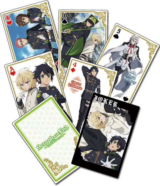Seraph of the End Playing Cards