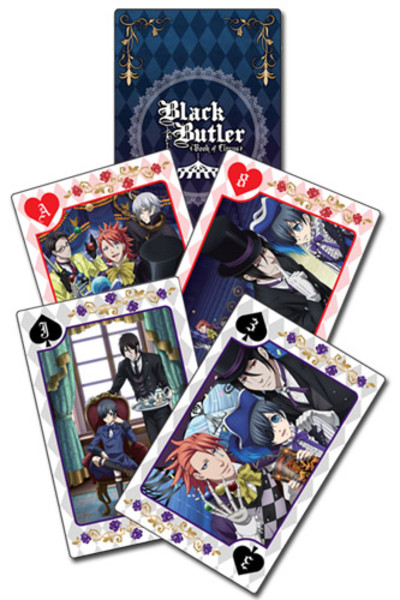 Royal Black Butler Book of Circus Playing Cards