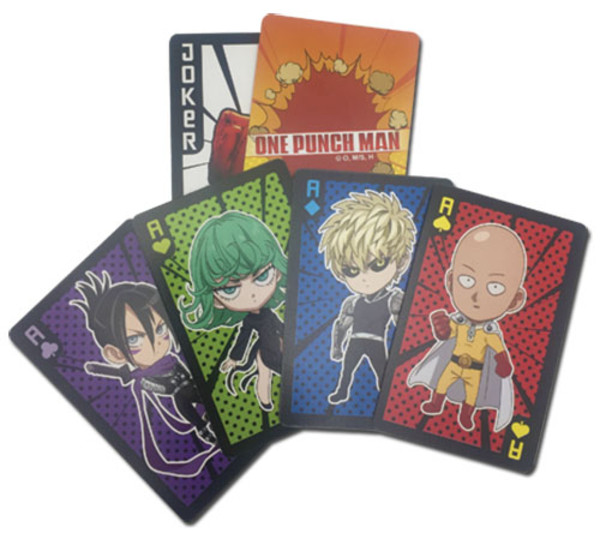 One-Punch Man Chibi Playing Cards