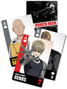 Power Packed One-Punch Man Playing Cards