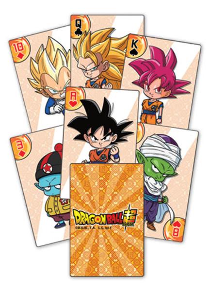 Chibi Dragon Ball Super Playing Cards