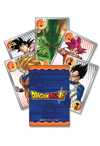 Battle of Gods Dragon Ball Super Playing Cards