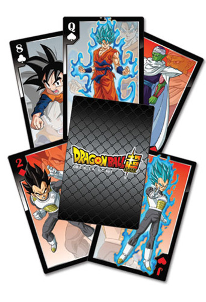 Dragon Ball Super Resurrection F Playing Cards