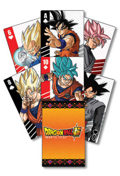 Dragon Ball Super Playing Cards