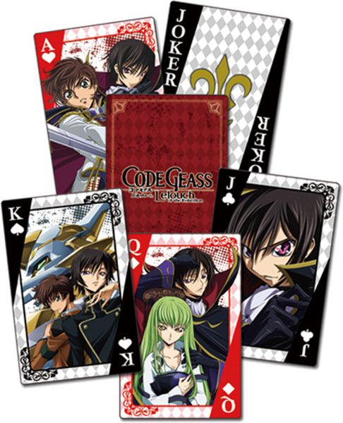 Elite Code Geass Playing Cards