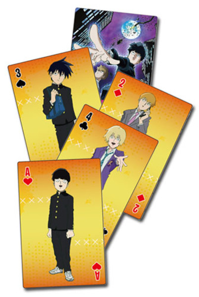 Group Mob Psycho 100 Playing Cards