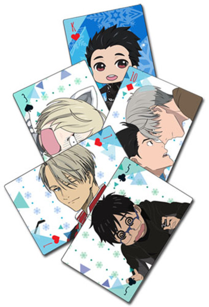 Too Cute Yuri!!! On ICE Playing Cards