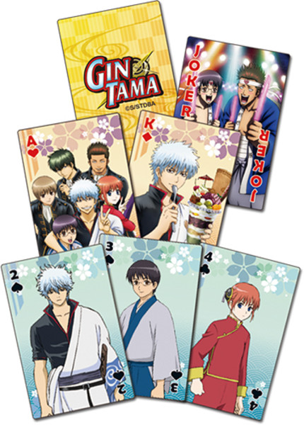 Gintama Season 3 Playing Cards