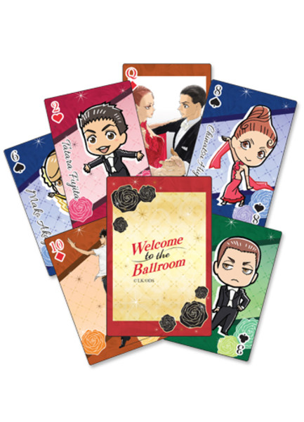 Welcome to the Ballroom Playing Cards