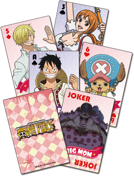 Whole Cake Island One Piece Playing Cards