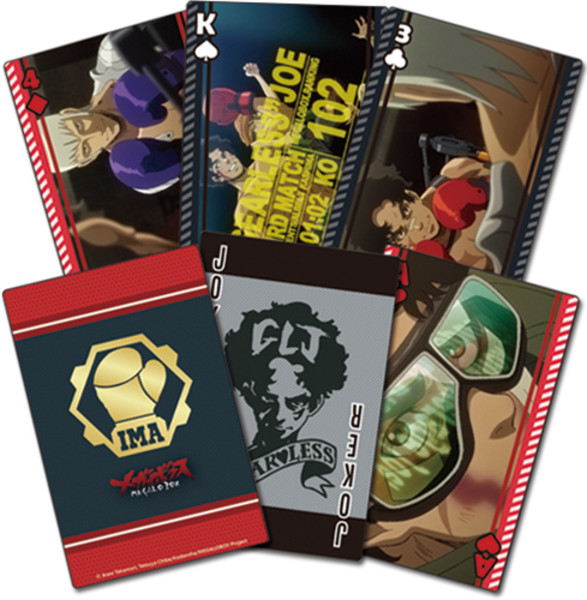 Live Feed Megalobox Playing Cards