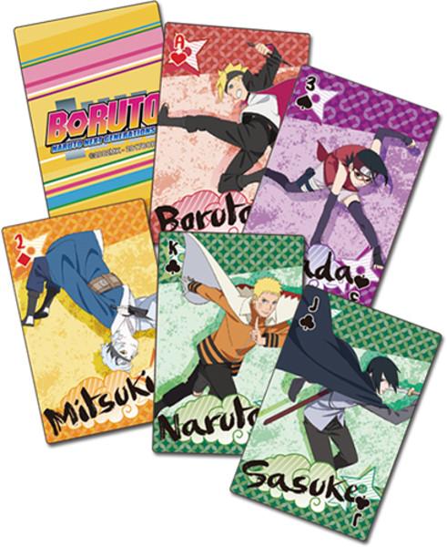 Young Shinobi Boruto Playing Cards