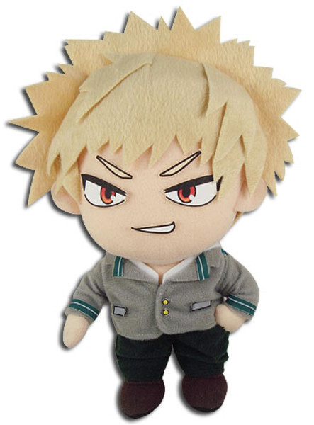 Katsuki Bakugo UA Uniform My Hero Academia Plush