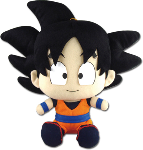 Goku Sitting Pose Dragon Ball Z Plush