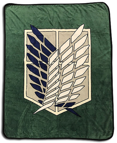 Attack on Titan Insignia Throw Blanket