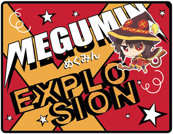 Megumin Explosion Konosuba Throw Blanket