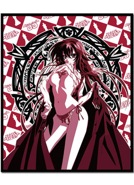 Rias In the Red High School DxD Throw Blanket