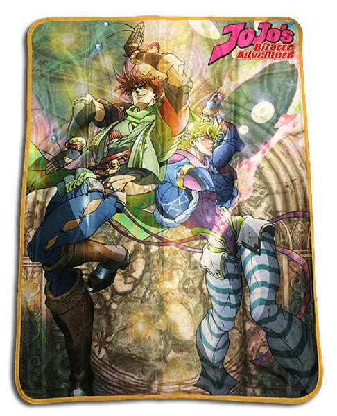 Battle Tendency Jojo's Bizarre Adventure Throw Blanket