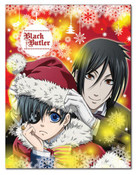 Black Butler Christmas Blanket