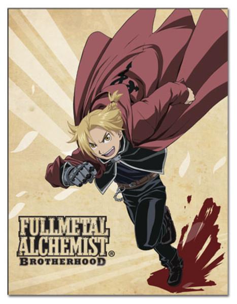 Edward Fullmetal Alchemist Brotherhood Throw Blanket