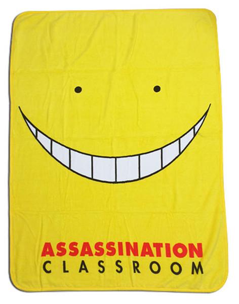 Koro Sensei Assassination Classroom Throw Blanket