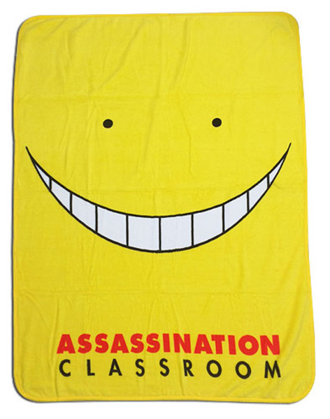 Koro Sensei Assassination Classroom Throw Blanket