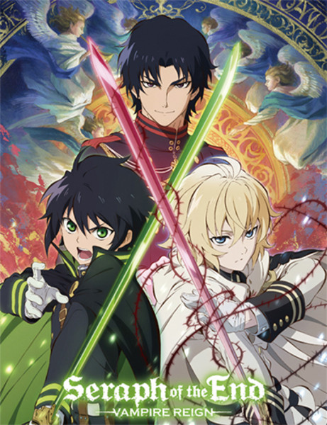 Crossed Swords Seraph of the End Sublimation Throw Blanket
