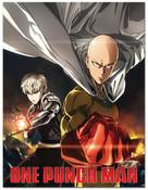 Saitama and Genos One-Punch Man Throw Blanket
