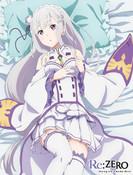 Emilia Re:ZERO Throw Blanket